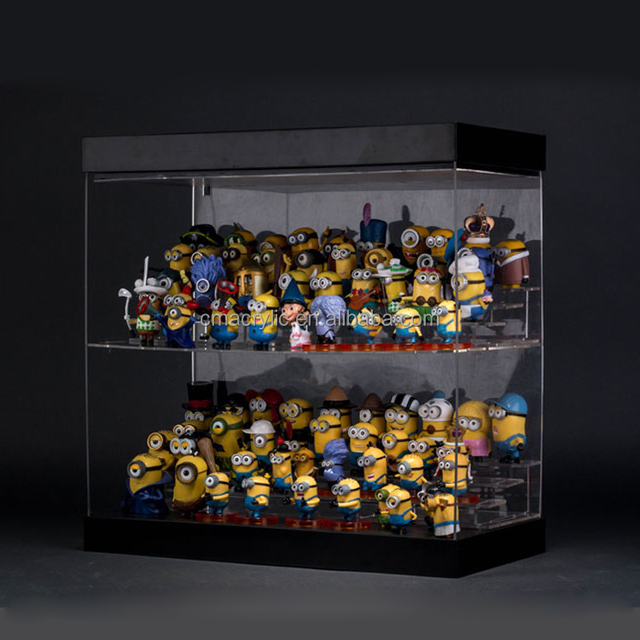Factory Customized Led Acrylic Toy Collectibles Display Show Case, Mini  Figure Model Storage Box