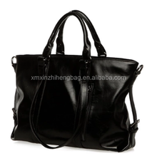 PU shoulder bag and hand bag 100% genuine leather handbags