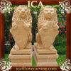 Hand Carving Lion Large Garden Marble