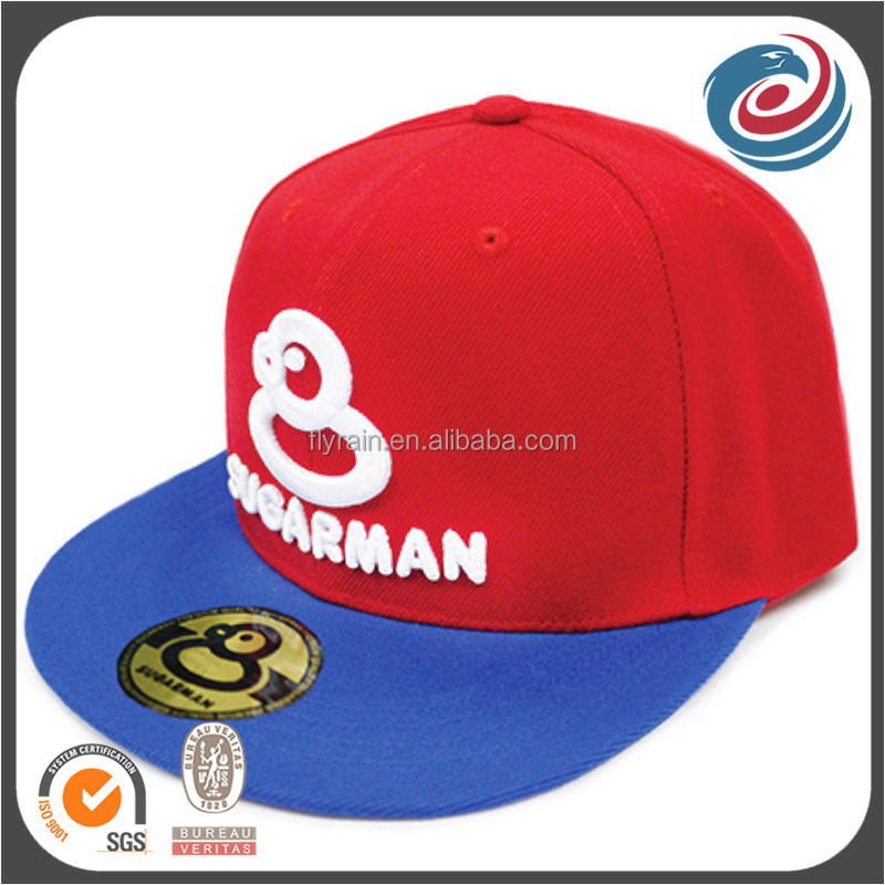 customized design flat brim hat manufacturer from china