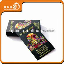 high quality factory price popular letterpress business cards