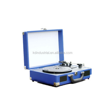 USB SD CD DVD Bluetooths Gramophone Vinyl Record Player for Wholesale