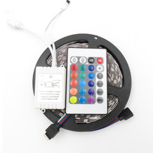remote control 12V 5M 300 Leds SMD 3528 2835 Diode Tape RGB&Single Colors LED Ribbon Flexible led light strip