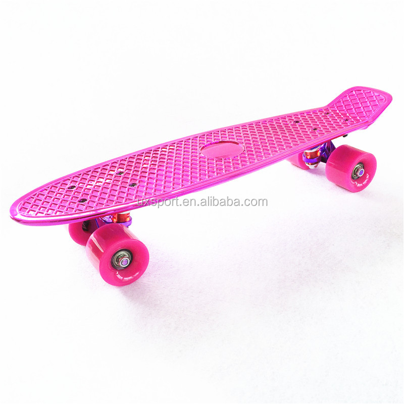 retro plastic cruisers skateboard mini skate board for sale