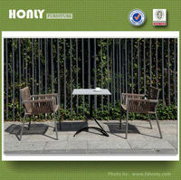 Garden and patio table chair set in outdoor furniture