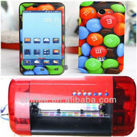 mobile phone wrap machine for sticker printer and cutter