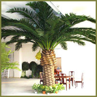 Cheap outdoor tall date palm tree artificial plastic date palm artificial trees for garden