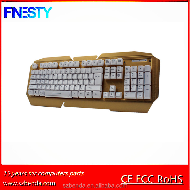 2017 Hot sale Backlight mutimedia wired gaming keybaord K668