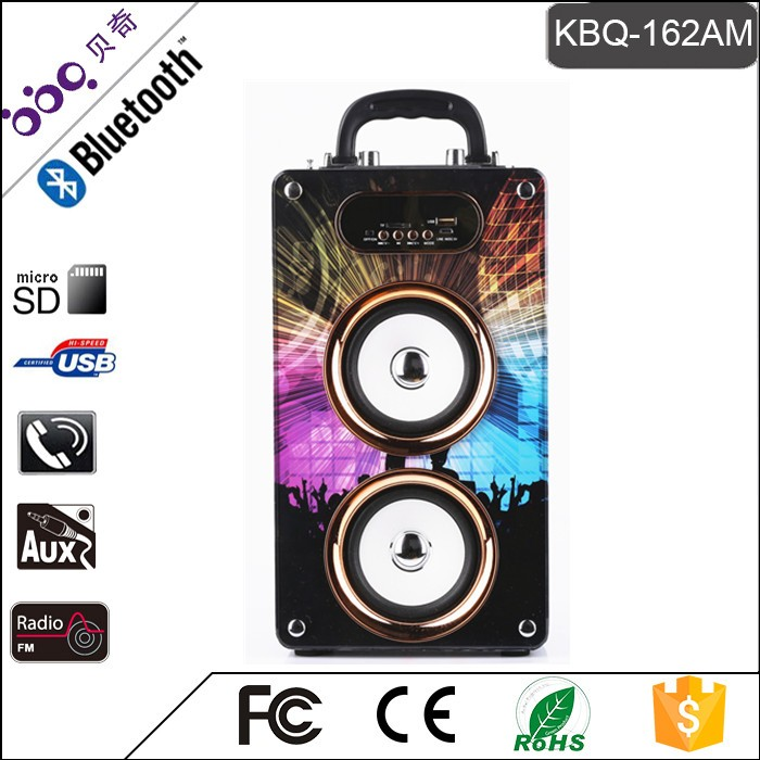 BBQ KBQ-162AM 20W 2000mAh Speaker Portable Karaoke