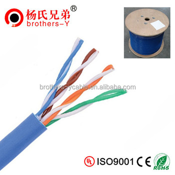 4pair utp cat5e cable in guangdong ethernet cable cat5e cable price