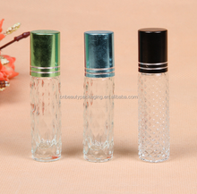 Glass Mini Traveller Spary, Sample Perfume Spary Bottle With Metal Sheathed cap