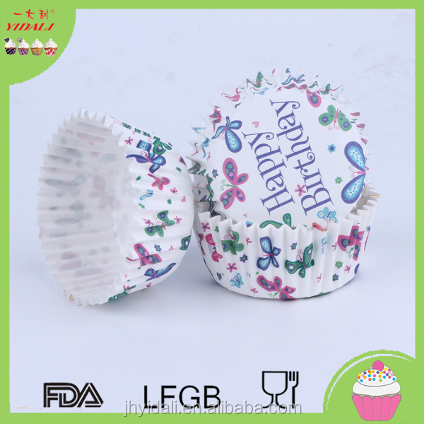 Paper Cake Cup Liner Baking Cup Muffin Tray Cupcake Cases For birthday wedding Nonstick Cake Cup