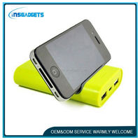 aaa battery case PNLF061 5200mah mobile power bank bottom price power bank with stand and holder