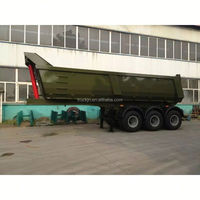 100 tons side dump semi trailer