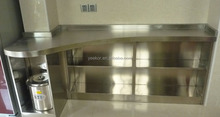 custom design 304 stainless steel kitchen cabinet accessories stainless steel shelf