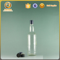 Factory directly supply vodka glass bottle made in China
