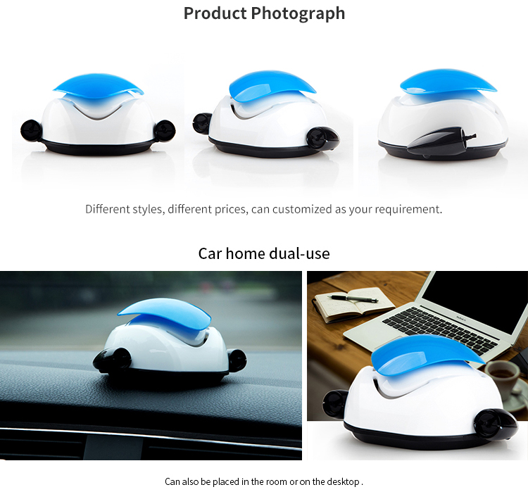 Wholesale Negative Ionizer Mini usb Car Air Purifier perfume