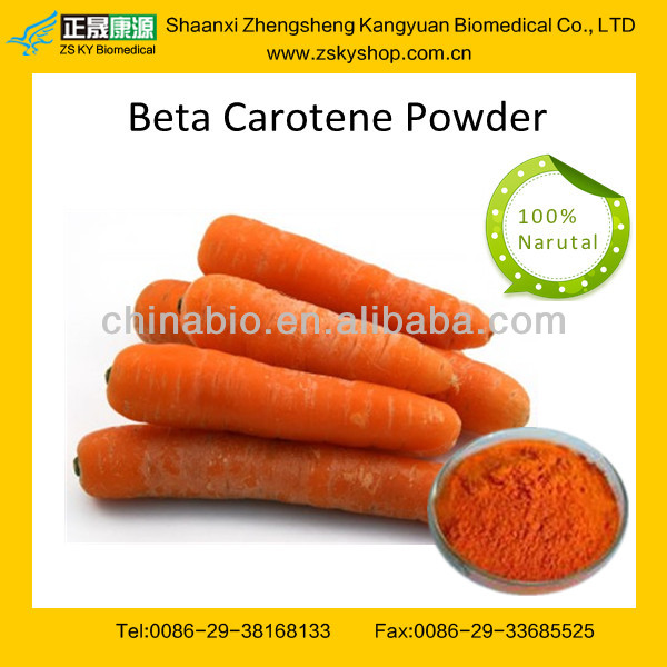 GMP certified Factory supply high quality Beta Carotene Carrot Root Extract