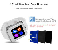 DZ09 2G Sim card cool mobile phone wrist watch