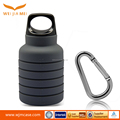 2017 New design Sports grey collapsible pocket-sized travel water bottle in travel for kids
