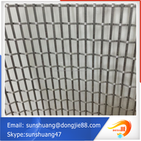 China supplier high security decorative metal mesh /metal wall decor