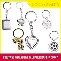 Proper Price Top Quality Heart-shaped Keychain Blanks