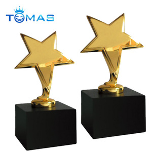 New style star shaped cheap trophy