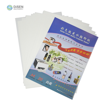 Factory outlet high quality white transparent bottom temporary tattoo water transfer paper