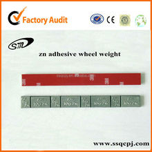 spraying zn self-adhesive wheel weight,3M tape