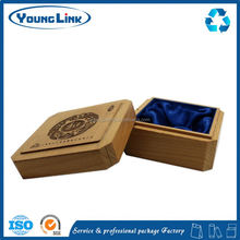 white elegant wooden gift box