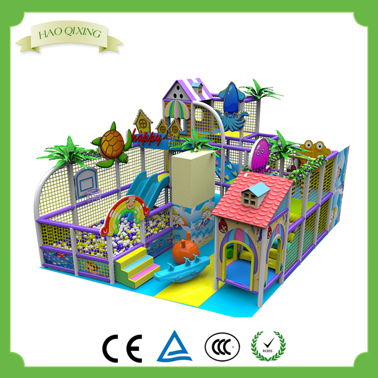 Ocean themed children indoor amusement park games