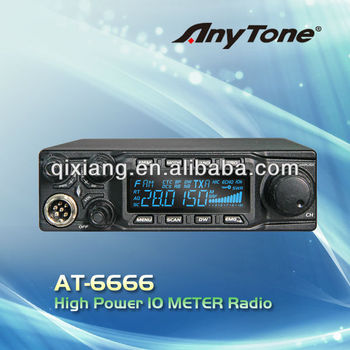 AT-6666 10 METER CB RADIO