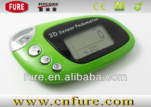 USB 3D Pedometer Dgital Pedometer Customized Colors and logos