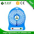 Geilienergy Factory Price Portable USB Rechargeable Mini Fan With LED Light