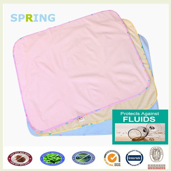 smooth bamboo fiber soft terry cloth for baby diaper