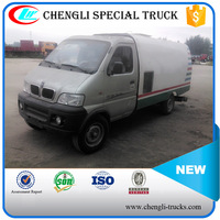 Chengli Special Mini Truck 4*2 65hp 1000L Vacuum Sweeper Dirt & Trash Suction Truck