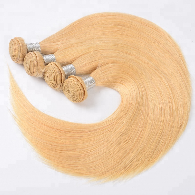 10A No Shed No Tangle Silky Straight Virgin Remy <strong>Hair</strong> 613 Honey Blonde White Women Favorite Wet And Wave Mink Human <strong>Hair</strong> Bundles