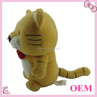 Plush animal toy stuffed tiger soft tiger toy