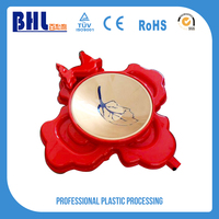 Customized abs parts plastic led ice bucket shoe cover
