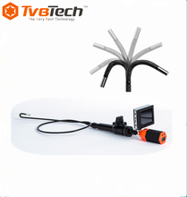 4-Way 360 Degree High Resolution Articulating Industrial Endoscope Camera Video Borescope / Videoscope