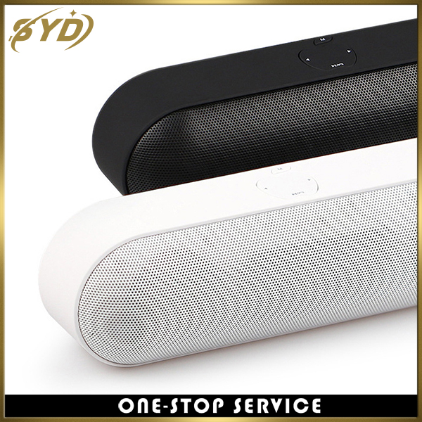 Dual 5W speaker stereo TF card wireless speaker with FM function