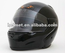 Motorcycle flip up helmet with anti-fog face shield AD-701