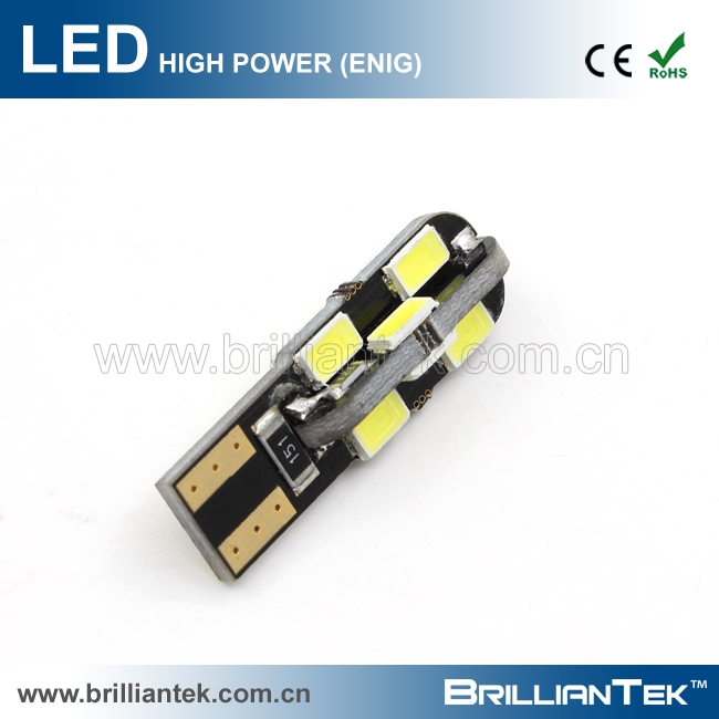 Wholesale Brilliantek Car LED Interior Brake Light Lamp T10 LED SMD 5730 Super Bright CANBUS Car Bulb
