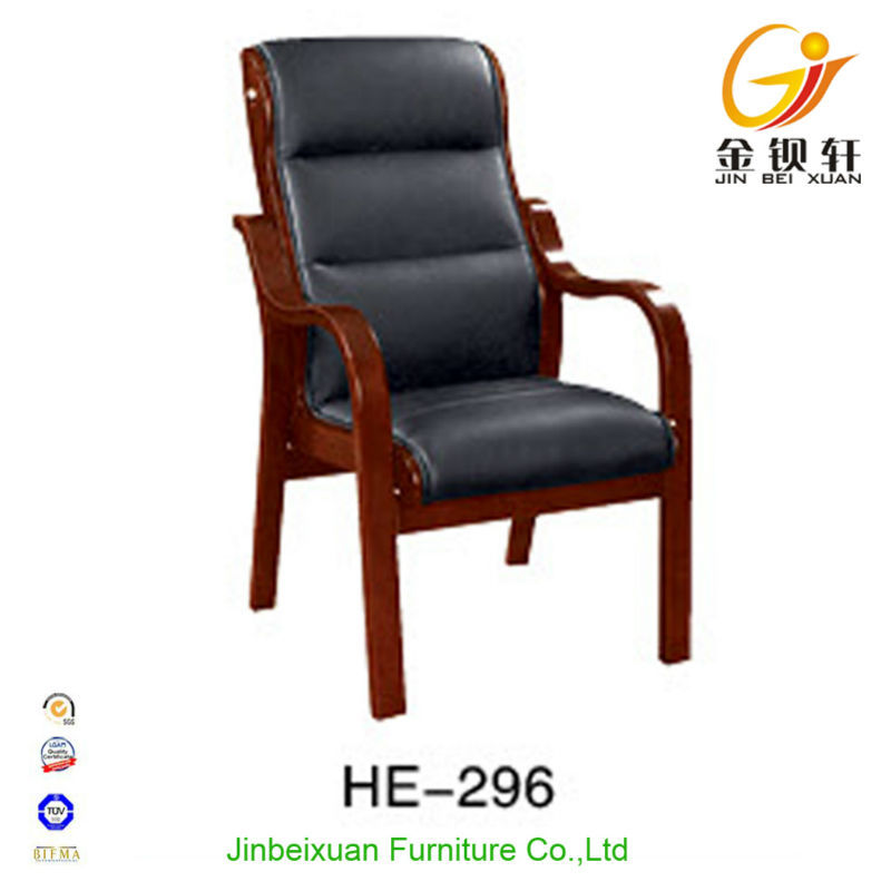 Conference room furniture luxury wooden executive office chair HE-296