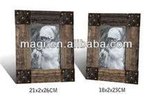 Antique Reclaimed Wooden Stock Photo Frame