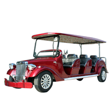 Excellent quality 4 wheel battery powered tourist car new shuttle bus