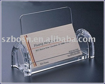 Credit Card Holder,Acrylic Name Card Holder,Acrylic Name Card Display stand