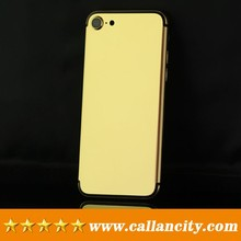 Personalize luxury gift for iPhone 7 gold housing