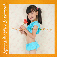Lovely children swimsuit model fancy swimwear for kids beautiful children wholesale kids swimwear SA-464