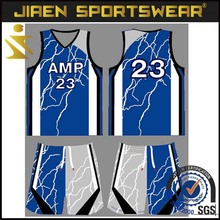 team set 100% polyester OEM Promotional basketball Jersey top quality full sublimation sublimation basketball jersey design 2016